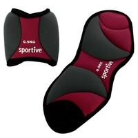 Sportive Neoprene Ayak Ağırlığı 2X0,5Kg
