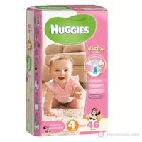 Huggies Kızım İçin Bebek Bezi Jumbo Paket 4 Beden 40 Adet