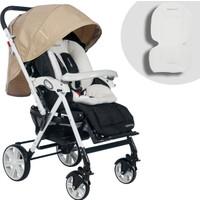 Baby Home Bh-2090 Comfort Çift Yönlü Pedli Bebek Arabası Krem