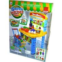 Emre Toys Büyük Eğitici Oyuncak Market Kasiyer Alışveriş Seti