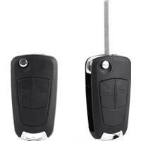 Gsk Opel Astra H Anahtar Kabı Sustalı 2 Buton (2004-2013 Model)