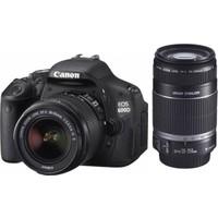 Canon EOS 600D 18-55mm IS II + 55-250mm IS II DOUBLE KİT