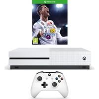 Microsoft Xbox One S 500GB Oyun Konsolu + Fifa 2018