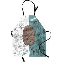 Orange Venue Beynin Bölümleri Mutfak Önlüğü Kahverengi