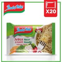 İndomie 20'li Sebze Çeşnili Hazır Noodle