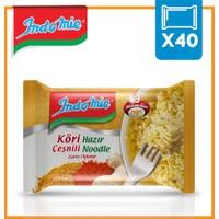 İndomie 40'lı Köri Çeşnili Hazır Noodle Koli
