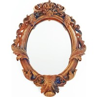 Nill Dünyası Pas Efektli Dekoratif Ayna
