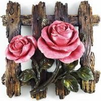 Nill Dünyası El Boyama Çiçekli Pano - Gül