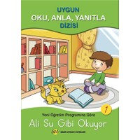 Sadık Uygun 1.Sınıf Oku Anla Yanıtla 8 Kitap Düz Yazılı