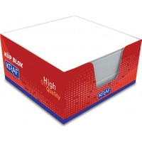 Kraf 9 X 9 Beyaz Küp Blok