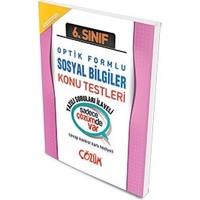 Çözüm Yayınları 6. Sınıf Optik Forumlu Sosyal Bilgiler Konu Testi