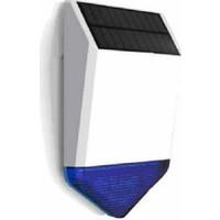 Kerui Kablosuz Güneş Enerjili Hırsız Alarm Dış Siren