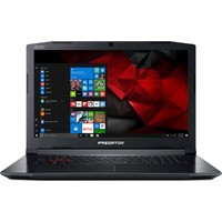 "Acer PH317-51-70KP Intel Core i7 7700HQ 16GB 1TB + 256GB SSD GTX1060 Windows 10 Home 17.3"" FHD Taşınabilir Bilgisayar"