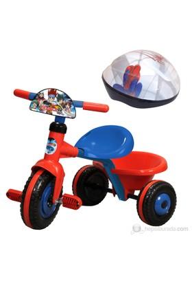 Beyblade Üç Teker Bisiklet & Spiderman Kask2
