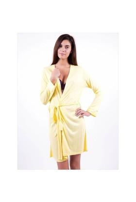 Ayyıldız 59464 Sarı Sabahlık Açık Sarı