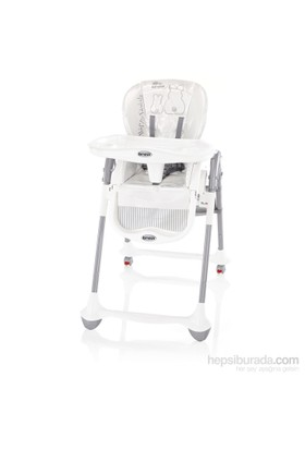 Brevi Convivio Highchair Mama Sandalyesi White Rabbit