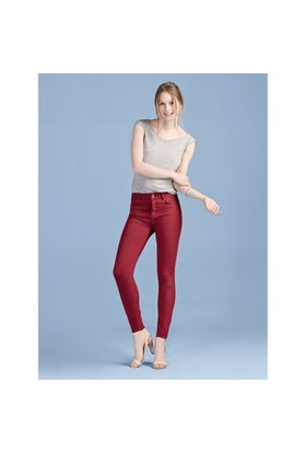 Colin's Bordo Kadın Pantolon