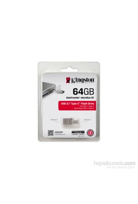 Kingston 64GB DT Microduo 3C USB 3.0/3.1 DTDUO3C/64GB