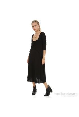Demoda Siyah Kadın Elbise