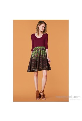 Demoda Kloş Etekli Elbise Eb2387