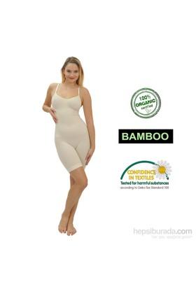 Emzik Form Bambu Paçalı Body Korse