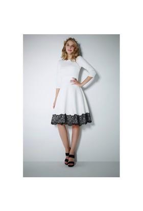 Ervans Kabarık Kloş Elbise