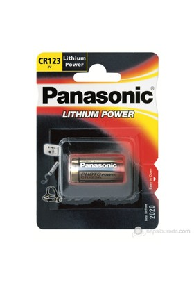 Panasonic Lithium Power 3V Lityum Fotoğraf Makinesi Pili
