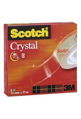 Scotch 600 1233 Kristal Bant 12mm x 33m