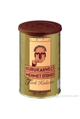 Kurukahveci Mehmet Efendi Türk Kahvesi Teneke 250 gr