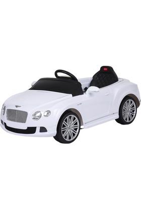 Bentley Uzaktan Kumandalı Akülü Araba 12 V / Beyaz