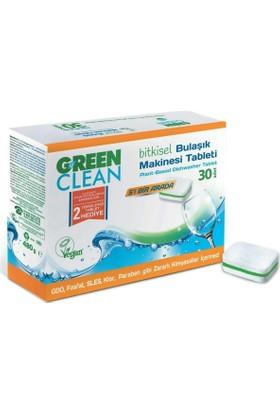 U GreenClean Bitkisel Bulaşık Makinesi Tableti