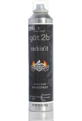 Got2B Rockin It 4Ever Stylestay Encore Hold Hair Spray Saç Sprey