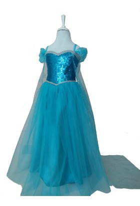 Pan Kostüm Elsa Frozen Kostümü