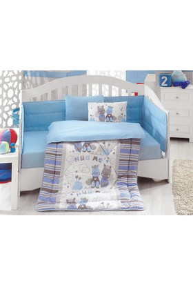 Cotton Box Bebek Uyku Seti Midilli Mavi