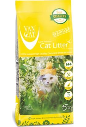 Vancat Pvc Kalın Kedi Kumu 15 Kg