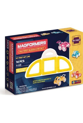Magformers My First Buggy Car Set Yellow 14P
