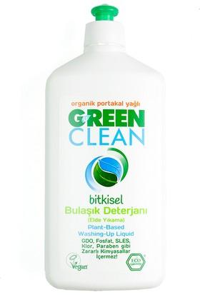 U Green Clean Organik Portakal Yağlı Bitkisel Bulaşık Deterjanı 500 ml