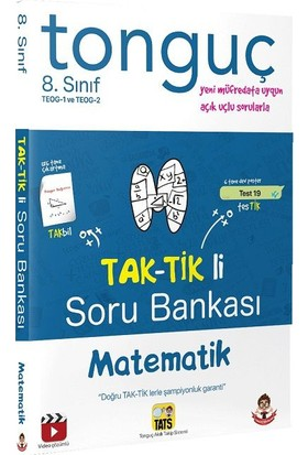 Tonguç Akademi Yayınları Matematik TEOG Taktikli Soru Bankası