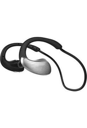 Azemax A885BL Kablosuz Sport Bluetooth Kulaklık Gri