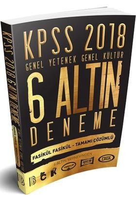 Benim Hocam Yayınları 2018 Kpss Genel Yetenek Genel Kültür Tamamı Çözümlü 6 Altın Deneme