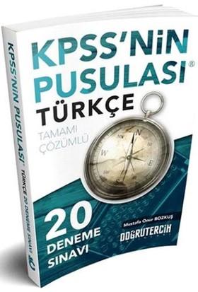 Doğru Tercih Yayınları 2018 Kpss'Nin Pusulası Türkçe 20 Çözümlü Deneme