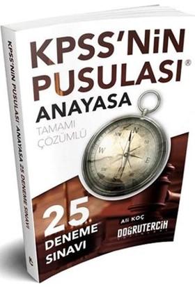 Doğru Tercih Yayınları 2018 Kpss'Nin Pusulası Anayasa 25 Çözümlü Deneme