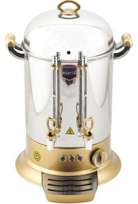 Remta Elektrikli Çay Makine 160 Bardak 15 L Çay Kazanı Ocağı Gold
