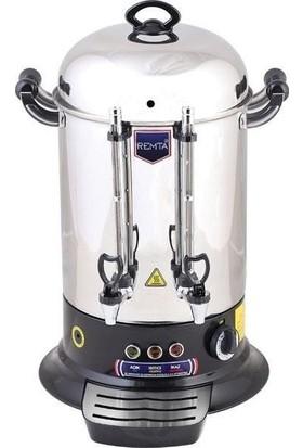 Remta Elektrikli Çay Makinesi 120 Bardak 12 Lt Çay Kazanı Ocağı