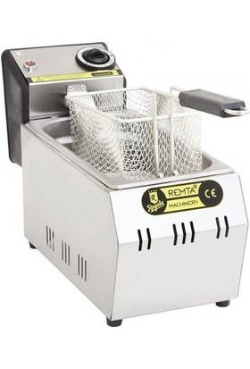 Remta Elektrikli Fritöz 3 Lt Patates Kızartma Makinesi Sanayi Tip
