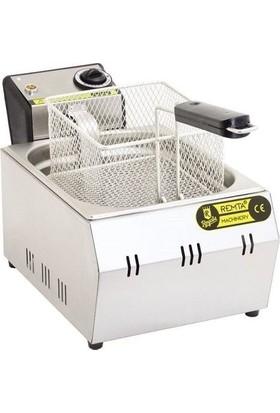 Remta Elektrikli Fritöz 5 Lt Patates Kızartma Makinesi Sanayi Tip