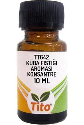 Tito Konsantre Tt642 Küba Fıstığı Aroması Suda Çözünür 10 ml