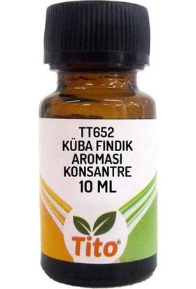 Tito Konsantre Tt652 Küba Fındık Aroması Suda Çözünür 10 ml
