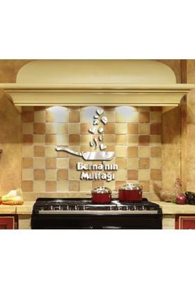 Dekoratif Pleksi Mutfak Aynası İsme Özel