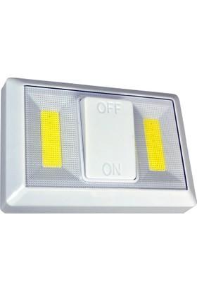 Watton Mıknatıslı Pilli Kablosuz Anahtarlı LED Lamba